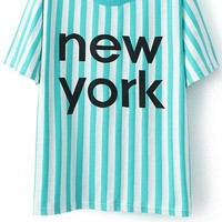 New York Striped Tee
