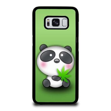 CUTE PANDA BEAR Samsung Galaxy S8 Case Cover
