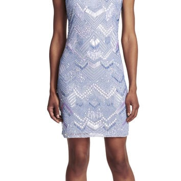 Fully Beaded Cocktail Dress - Adrianna Papell