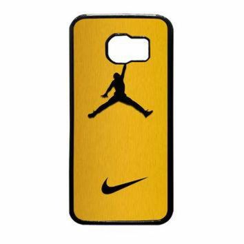 VONR3I Nike Air Jordan Golden Gold Samsung Galaxy S6 Case
