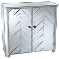 Patsy Mirrored Chest, Chest of Drawers