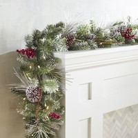 Lit Twig Snowflakes Pottery Barn From Pottery Barn