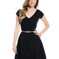 Black The Blair Back Detail Dress | $10.00 | Cheap Trendy Casual Dresses Chic Discount Fashion for W