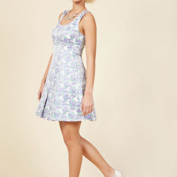 Jacquard Darling Mini Dress