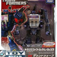 Transformers Generations TG-13 Soundwave & Lazerbeak Fall of Cybertron Takara