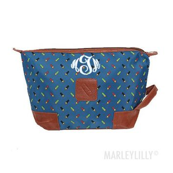 Personalized Men's Large Toiletry Bag | Marleylilly