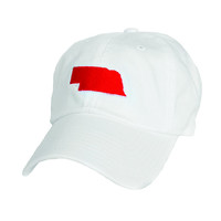 Nebraska Lincoln Gameday Hat White