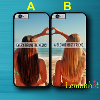 BFF Case for iPhone 5 5S 5C 4 4S 6 6S Plus Case for iPod Touch 5 Case.