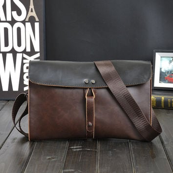 unique casual leather bag