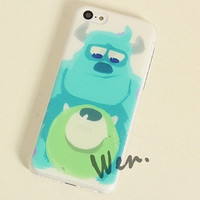 Monsters University Anime iPhone 5C case - Anime Mike Wazowski iPhone 4/4S/5/5S Case - Anime Sulley iPhone 5C Case