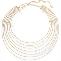 Aurélie Bidermann - Thalia gold-plated necklace