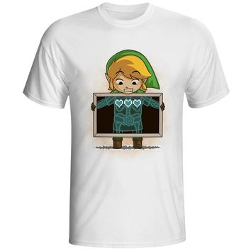 I Have Three Hearts T Shirt Popular Legend Of Zelda Video Game Design T-shirt Fashion Tshirt Unisex Cool Tee