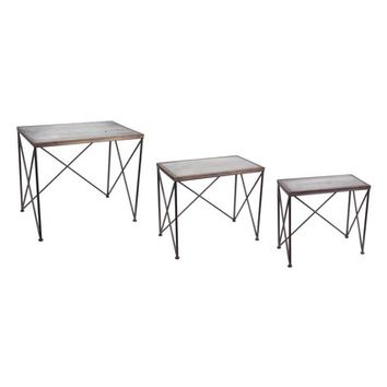 Melrose Gifts Set of 3 Accent Tables | Nordstrom
