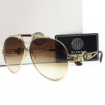 Versace Men Women Casual Summer Sun Shades Eyeglasses Glasses Sunglasses