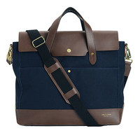 Rag & Bone - Rugged Briefcase -, Navy Size One
