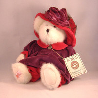 Retired Boyds Bear Ms Rouge Chapeau Red Hat Society by doranzi