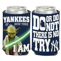 New York Yankees Star Wars Yoda Can Koozie - Qty 1