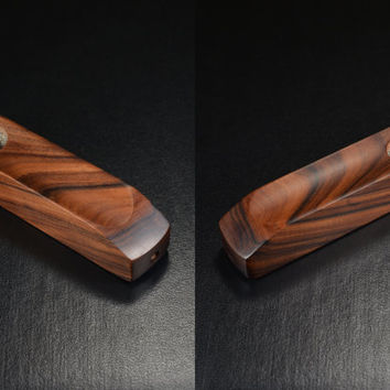 EMBER OUT PIPES • East Indian Rosewood • Half Inch Bowl • Look at this crazy wood • Don't Forget to Add Screens