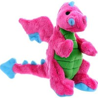 goDog Baby Dragon Plush Dog Toy Size: Small Pink