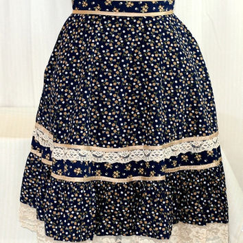 Girls Vintage Gunne Sax Skirt