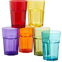 Refreshing Spectrum Glass Set | Mod Retro Vintage Kitchen | ModCloth.com