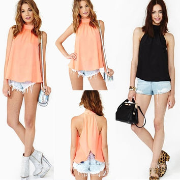 2015New !!Women Loose Oversize Blouse Tops Batwing Sleeve Long Casual Patchwork T-Shirt Stylish S-2XL = 1946269316