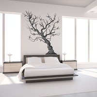 Vinyl Wall Decal Sticker Musical Tree #OS_MB445