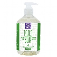 Kiss My Face Peace Soap, 100% Natural Castile Soap Grassy Mint | Walgreens