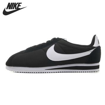 Original NIKE CLASSIC CORTEZ NYLON Men's Skateboarding Shoes Sneakers