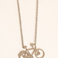 Bike Ride Adventure Necklace - $12.00 : ThreadSence.com, Your Spot For Indie Clothing  Indie Urban Culture
