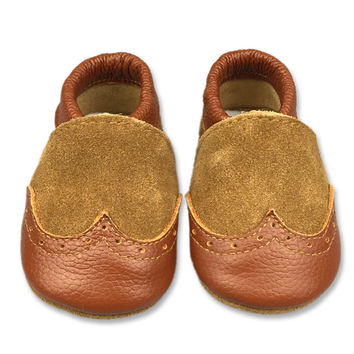 Leather Baby Handcrafts Shoes [4919350788]