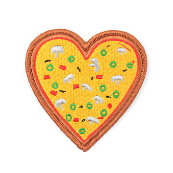 Pizza My Heart Patch