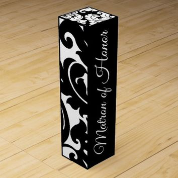 WILL YOU BE MY MATRON OF HONOR WINE GIFT BOX