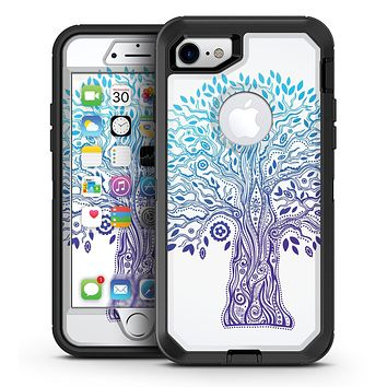 Gradiated Tree of Life - iPhone 7 or 7 Plus OtterBox Defender Case Skin Decal Kit