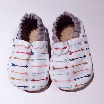 Colorful Arrows Bootie, Arrows, Baby, Infant, Toddler, Walker shoes, Bootie, Walker, Shoes, Baby Boy, Baby girl,