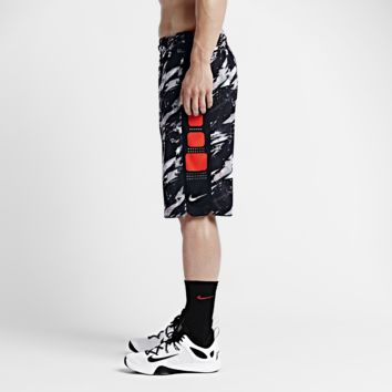 Nike Elite Stripe Splatter Men's Basketball Shorts