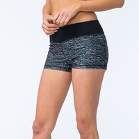 FULL TILT SPORT Scale Print Womens Shorts | Shorts