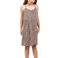 ANIMAL PATTERN PRINT CAMI DRESS GIRLS