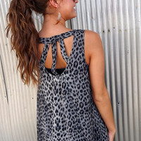 Long Leopard Tunic | The Rage