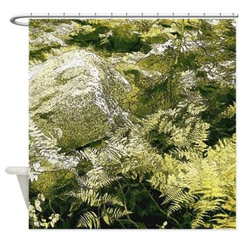 FOREST FERN SHOWER CURTAIN