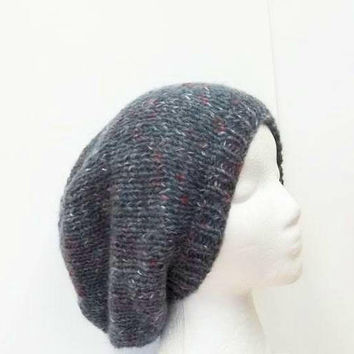 Slouch hat knitted   5197