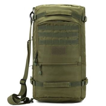 School Backpack Lucky Gourd Hot 50L High Quality Nylon Bag Military 17 Inch Laptop Men Backpack Travel Rucksack Bags 2018 s D047 AT_48_3