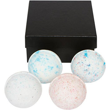 Mens Bath Bomb Gift Set. Huge 4 - 7 Oz. Perfect Relaxation Men's Gift. Unique Gift for Men, Husband, Father, Brother, Boyfriend. Relieve Stress for Father's Day and Birthdays By Da-man Bath (Corleone)