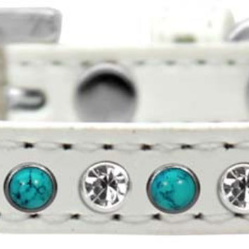 Premium Southwest Turquoise and Crystal Collar