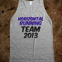 Horizontal Running Team 2013 - Jordan Designs