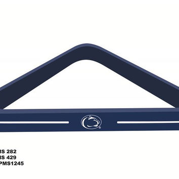 Penn State University Billiard Ball Triangle Rack