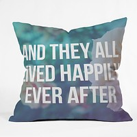 Leah Flores Ever After Throw Pillow