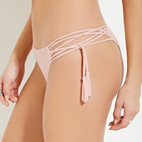 Tasseled Cheeky Bikini Bottoms | Forever 21 - 2000180949