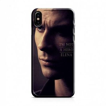 Damon Vampires Diaries iPhone X Case