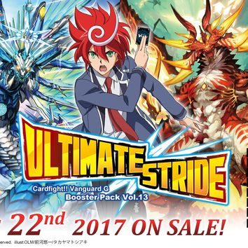 Ultimate Stride - Booster Pack - Cardfight Vanguard G